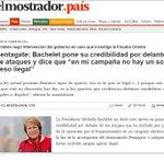 RT @pablolirar: Las boletas de campaña de Bachelet que la relacionan con el origen del #Pentagate.// Se pudrió todo @alvaroelizalde http://t.co/offie4Hexw