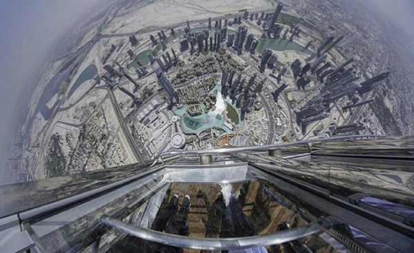 The view from #BurjKhalifa's new 1,821-foot observation deck will make your palms sweat: http://t.co/SAPLphHdp0 http://t.co/7JWIYrUdQV