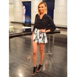 #LOTD from @enews last night: Top @AllSaintsLive /Shorts @majeofficial /Shoes @aquazurra / Styled by @MonicaRoseStyle http://t.co/4EgMTww95r