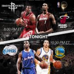 RT @NBAonTNT: We're back tonight with a doubleheader!