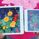 RT @mspoonauer: This is what the anti-reflective screen on iPad Air 2 looks like outside vs iPad mini 3. http://t.co/AlQG6S1ydH