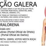 Galera, já sabemos o nosso foco e é #ForaLorena ! Mutirões tbm com @OficialMutirao ???? #AFazenda http://t.co/S9BeI7ab6q