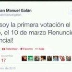 Ahora q el parásito @juanmanuelgalan quiere dar lora contra @AlvaroUribeVel,me permito recordar lo q su palabra vale! http://t.co/XKVIBq0Z8z