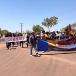 RT @KatGregoryABC: Aboriginal clans protest over McArthur River Mine: damage to health & env. @1057darwin @ABCNews24 http://t.co/cUXEUl64Xf