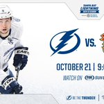 RT @TBLightning: The puck has been dropped and were underway at the Scotiabank Saddledome. Tune in now to @SunSportsBolts #TBLvsCGY http://t.co/ymFCSPyIz8