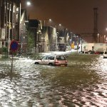 #Hoogwater #Vlaardingen: Foto 3 vanaf de Koningin Wilhelminahaven: http://t.co/TWIWUKYE9j