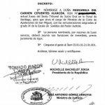 Conozcan a la ahijada de Bachelet, si, la misma que hoy persigue a Labbe. @sesnaola #LabbeBajoFianzaVigilantes http://t.co/PBiXITR8Ot