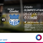 RT @FEFecuador: #ComitéFEF Partido @SDQUITO - @CSEmelec #SerieA Campeonato Ecuatoriano Copa Pilsener http://t.co/4RHrQ6Ehtp