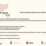 RT @jaumeleiva: Mañana a las 11:00 RDP @HalfMarathonSer Se prevé una temporada de Half Marathon apasionante en #tarragona http://t.co/ZKXqkAB3oE