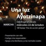 """RT @ClaudiaLizaldi: Rt: FundarMexico: ¡Una luz por Ayotzinapa! ¡Los queremos vivos! #TodosSomosAyotzinapa http://t.co/1Dt8UNJ4W4"""""""