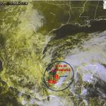 #BAJA PRESIÓN con 50% de potencial ciclónico,se localiza a 215 km al oeste-noroeste de Cd. del Carmen Camp. http://t.co/4QHeSsOzOl
