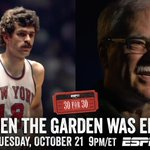 "RT @espn: The latest @30for30 ""When The Garden Was Eden"" is live now on ESPN or right here: http://t.co/UMvm9AqEBG http://t.co/XcCLQLg3ed"