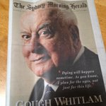 Great day to #buythepaper. @smh full of masters - Gough,of course, but also journalisms Tony Stephens &Rick Stevens http://t.co/L5UwpL9Gcm