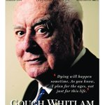 RT @smh: Gough Whitlam, 1916-2014. Todays 16-page special edition of the @smh. http://t.co/WirOUrHrU0