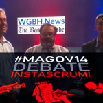 RT @wgbhnews: INSTASCRUM!: @dbernstein @kadzis & @reillyadam on what to expect from #MaGov14 debate: http://t.co/oX7bh1c7Le #mapoli http://t.co/pzh1zxoVK5