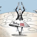 The New York Times çizeri, Kobani'deki U dönüşü nedeniyle Erdoğan'ı dans ettirdi http://t.co/eeE0iKNduQ http://t.co/NsLErqQmYK