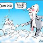 (Former PM) Gough Whitlam was arrogant. If you cant say anything nice, make a very boring cartoon. http://t.co/GGG0HYBNDg