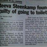 "RT @EllieWebber3: ""@IconicAutograph: The real reason Reeva Steenkamp was shot by Oscar Pistorius #OscarPistorius #PistoriusTrial http://t.co/e4FZpB3YAN"""