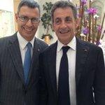 RT @HotelExedraNice: @NicolasSarkozy et le Président de la @MetropoleNCA @cestrosi à @HotelExedraNice http://t.co/sEgWGBuIIm