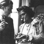 Salvador Dalí and Coco Chanel http://t.co/ek2aUICa4s