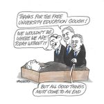 All good things must come to an end... Tandberg via @theage #auspol #Whitlam #HECS #universities #lies #hypocrisy http://t.co/70zEEeHWY8