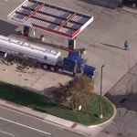 RT @DenverChannel: #BREAKING: Fuel spill at gas station prompts evacuations in Parker; EB Cottonwood Drive closed http://t.co/JRG8juHi83 http://t.co/TG0Q9VJnmf