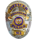 Check out our new Chandler PD Badges..... Very Professional just like all of our employees here at CPD! http://t.co/42Xo9rEumI