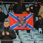 Болельщики ЦСКА развернули на матче Лиги чемпионов флаг Новороссии http://t.co/Vb5yaknYME http://t.co/MqP85ICyms