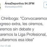 Mientras unos clubes impulsan la Liga Profesional para mejorar la situación económica, esta es la VISIÓN de Chiriboga http://t.co/KqIGCjk0HT