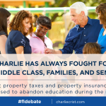 .@CharlieCrist has always fought for working families. Im proud to have him in our party. #FLDebate http://t.co/axTDP4H2ig