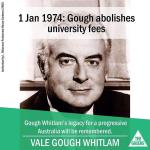 "RT @jamesmassola: . @AlboMP presser in 20 mins on ""lack of respect"" shown by the Greens to Gough Whitlam. I guess referring to this? http://t.co/j84tBDRCBo"
