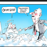 RT @WeTheVoters2013: Via @aus_politics: Bill Leak on Gough Whitlams next meeting? #RIPGoughWhitlam http://t.co/wRIrAymuc4 http://t.co/5UHdV2ZRB5