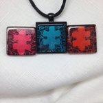 RT @genevassky: #Handmade #Autism #jewelry #art glass #necklace #pottiteam http://t.co/fGHjSTFykf http://t.co/qMNeWHUBDg