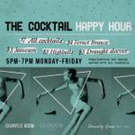 RT @GranvilleRoom: Happy Hour starts in 30 minutes! Join us for cocktails, beer, and 2-4-1 pizza. #Vancouver http://t.co/uAP7FFcWsb