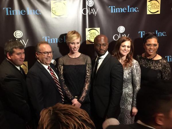 Honored and thrilled to celebrate with @OlayUS @TayeDiggs at #SCFgala! #bestbeautiful http://t.co/NkHAurc7Q4