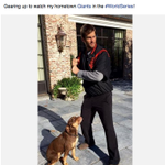 RT @MLBFanCave: Tom Brady is rooting for the @SFGiants: http://t.co/fbHRCxpSqe #WorldSeries http://t.co/sw4DjP3AHY