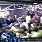 En estos momentos @PoliciaBogota activa plan de seguridad en Estación AV Jiménez. http://t.co/zPf4kJboUP