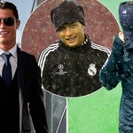 """""""@MailSport: Cristiano Ronaldo has to adapt to weather he isnt used to... http://t.co/X4TRArY2zZ http://t.co/9OJz8UyVeu"""""""