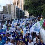RT @MirandaSa_: RT @cesimar: Manifestação dos Médicos e Universitários em Natal /RN => http://t.co/8dxkwgonY5 #AecioPeloBR45IL