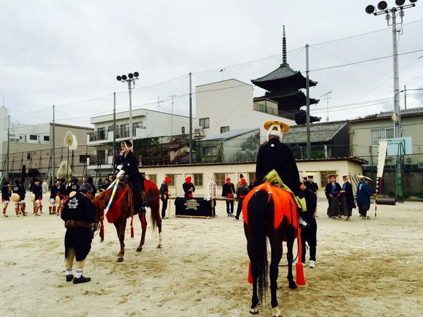 今日は時代祭。#京都 http://t.co/vJGSkjEMQD