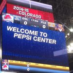 One hour until game time at Pepsi Center! #FLAvsCOL http://t.co/dMdjOwv9wv
