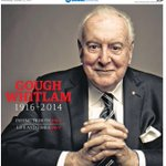The West Australians #GoughWhitlam front page today via @thewest_photos #auspol #Gough http://t.co/w4pRD8lP7N
