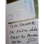 RT @anatelorza: Mientras reciben equipamiento para Bioseguridad del EBOLA ésto sucede en el Hospital de Río Caribe http://t.co/qKcKq5GhRW