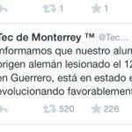 Todo el mundo unido por #AcciónGlobalAyotzinapa y en guerrero esto es lo que al TEC le interesa. Que vergüenza. http://t.co/QR5tvkQhwW