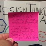 RT if you believe in human potential for social good. @3M @postitproducts #DesignThinking #ABQ #DFGEntry http://t.co/IhCZHcablo
