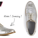 RT to #WIN our #ShoeOfTheWeek, these Silver Lace Ups: £48 http://t.co/Gmz3tEDiWb. Terms: http://t.co/Znh8TxCIGA http://t.co/SrAq9vFS0O