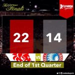 RT @sanbedasports: Red Lions on a roaring start, up by eight points to end 1st quarter #GoSanBedaFive #SBCD... http://t.co/lScuMAJmdp http://t.co/P69rfbfjsn
