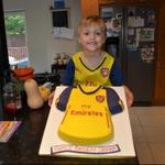 Happy 5th Birthday to our one and only Graham! @Mlguenther1 @Arsenal #ArsenalFan http://t.co/XeKSVxlqFn