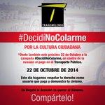 Por la cultura ciudadana de los bogotanos #DecidíNoColarme. ¡Únete y compártelo! @Petrogustavo @BogotaHumanaYA http://t.co/6XlfYsY84n