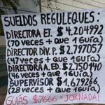 RT @prensaopal: Hijo de Pdta. Bachelet, dirige fundación a cargo del MIM, Trabajadores en huelga denuncian la desigualdad en sueldos. http://t.co/2FgLApePvJ